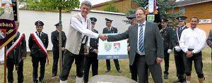 21.06.2014 Straußfurt 20 Jahre Partnerschaft mit Biberbach Foto Katrin Müller